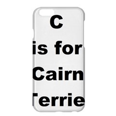 C Is For Cairn Terrier Apple Iphone 6 Plus/6s Plus Hardshell Case