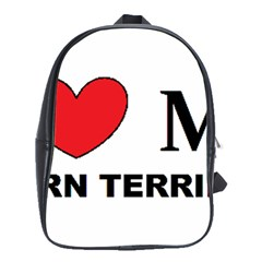 Cairn Terrier Love School Bag (large)