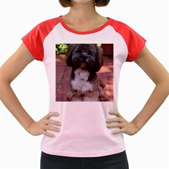 Lhasa Apso Shaved Women s Cap Sleeve T Shirt