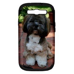 Lhasa Apso Shaved Samsung Galaxy S Iii Hardshell Case (pc+silicone)