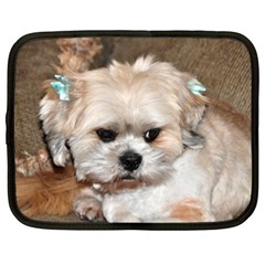 Lhasa Apso Groomed Netbook Case (xxl)
