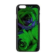 Roses Vi Apple Iphone 6/6s Black Enamel Case