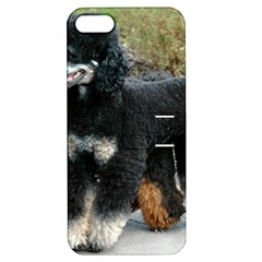 2 Poodles Full Apple Iphone 5 Hardshell Case With Stand
