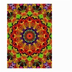 Fractal Mandala Abstract Pattern Small Garden Flag (two Sides)