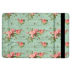 Vintage Blue Wallpaper Floral Pattern Ipad Air Flip