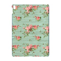 Vintage Blue Wallpaper Floral Pattern Apple Ipad Pro 10 5   Hardshell Case