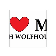 Irish Wolfhound Love Satin Bandana Scarf