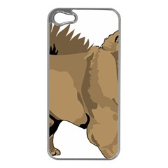 Chow Chow Art Apple Iphone 5 Case (silver)