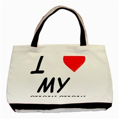 Chow Chow Love Basic Tote Bag (two Sides)