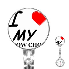 Chow Chow Love Stainless Steel Nurses Watch