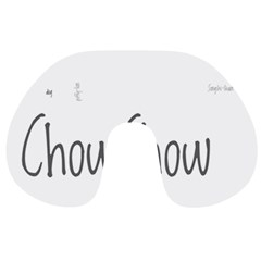 Chow Chow Mashup Travel Neck Pillows
