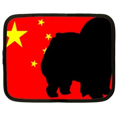 Chow Chow Silo China Flag Netbook Case (xl)