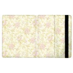 Floral Paper Pink Girly Pattern Apple Ipad 3/4 Flip Case