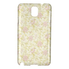 Floral Paper Pink Girly Pattern Samsung Galaxy Note 3 N9005 Hardshell Case
