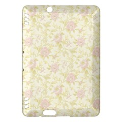 Floral Paper Pink Girly Pattern Kindle Fire Hdx Hardshell Case
