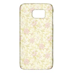 Floral Paper Pink Girly Pattern Galaxy S6