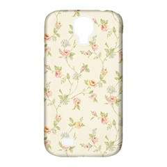 Floral Paper Pink Girly Cute Pattern  Samsung Galaxy S4 Classic Hardshell Case (pc+silicone)