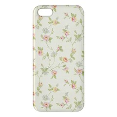 Floral Paper Pink Girly Cute Pattern  Iphone 5s/ Se Premium Hardshell Case