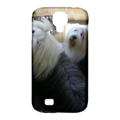 2 Old English Sheepdogs Samsung Galaxy S4 Classic Hardshell Case (pc+silicone)