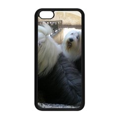 2 Old English Sheepdogs Apple Iphone 5c Seamless Case (black)
