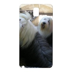2 Old English Sheepdogs Samsung Galaxy Note 3 N9005 Hardshell Back Case