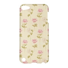 Floral Paper Illustration Girly Pink Pattern Apple Ipod Touch 5 Hardshell Case