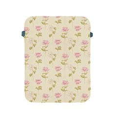 Floral Paper Illustration Girly Pink Pattern Apple Ipad 2/3/4 Protective Soft Cases