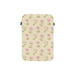 Floral Paper Illustration Girly Pink Pattern Apple Ipad Mini Protective Soft Cases
