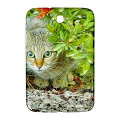 Hidden Domestic Cat With Alert Expression Samsung Galaxy Note 8 0 N5100 Hardshell Case