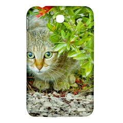Hidden Domestic Cat With Alert Expression Samsung Galaxy Tab 3 (7 ) P3200 Hardshell Case