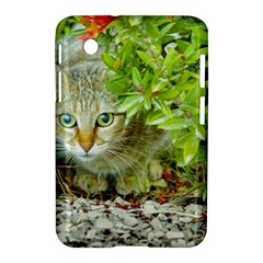 Hidden Domestic Cat With Alert Expression Samsung Galaxy Tab 2 (7 ) P3100 Hardshell Case