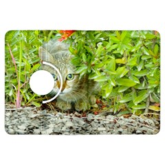 Hidden Domestic Cat With Alert Expression Kindle Fire Hdx Flip 360 Case
