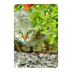 Hidden Domestic Cat With Alert Expression Samsung Galaxy Tab Pro 10 1 Hardshell Case