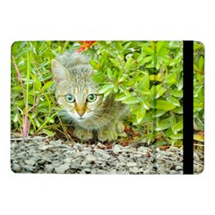 Hidden Domestic Cat With Alert Expression Samsung Galaxy Tab Pro 10 1  Flip Case