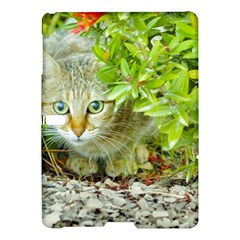 Hidden Domestic Cat With Alert Expression Samsung Galaxy Tab S (10 5 ) Hardshell Case