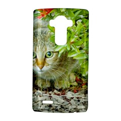 Hidden Domestic Cat With Alert Expression Lg G4 Hardshell Case