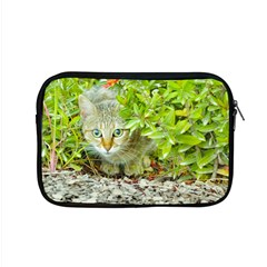 Hidden Domestic Cat With Alert Expression Apple Macbook Pro 15  Zipper Case