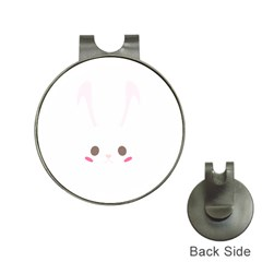 Rabbit Cute Animal White Hat Clips With Golf Markers
