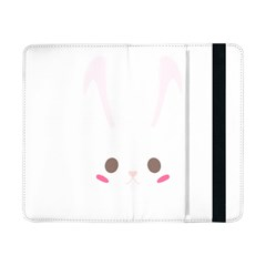 Rabbit Cute Animal White Samsung Galaxy Tab Pro 8 4  Flip Case