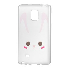 Rabbit Cute Animal White Galaxy Note Edge