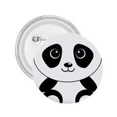 Bear Panda Bear Panda Animals 2 25  Buttons