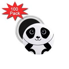 Bear Panda Bear Panda Animals 1 75  Magnets (100 Pack)