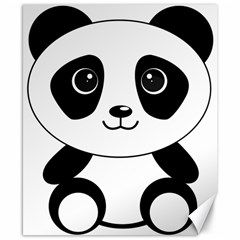 Bear Panda Bear Panda Animals Canvas 8  X 10