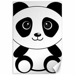 Bear Panda Bear Panda Animals Canvas 20  X 30