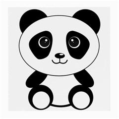 Bear Panda Bear Panda Animals Medium Glasses Cloth