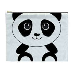 Bear Panda Bear Panda Animals Cosmetic Bag (xl)