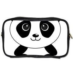 Bear Panda Bear Panda Animals Toiletries Bags
