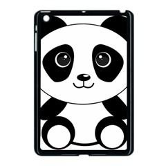 Bear Panda Bear Panda Animals Apple Ipad Mini Case (black)