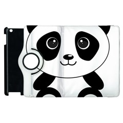 Bear Panda Bear Panda Animals Apple Ipad 2 Flip 360 Case