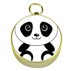Bear Panda Bear Panda Animals Gold Compasses